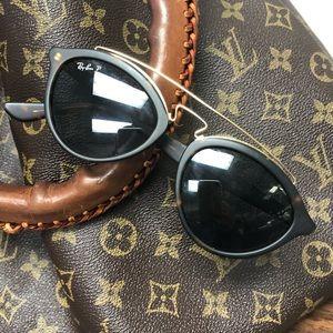 Women's Ray-Ban ORB4257 Round Polarized Sunglasses